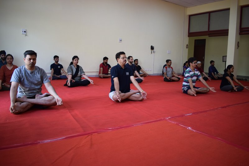 International Day of Yoga-IIM Nagpur